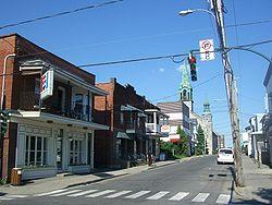 Downtown Saint Jean sur Richelieu