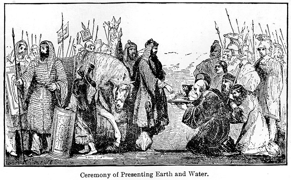Ceremony of Presenting Earth and Water