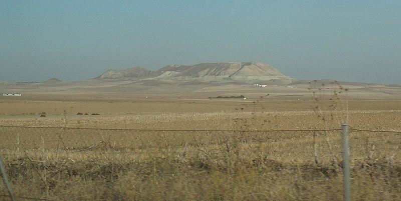 Fichier:Cerro testigo en Toledo.JPG