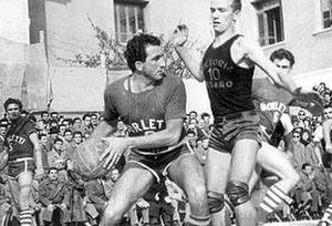 Cesare Rubini - Image: Cesare Rubini (as basket player)
