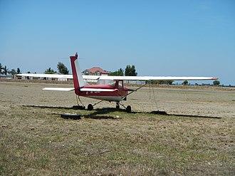 Iba Airfield - Image: Cessna 150 at Iba Airport 9319 05