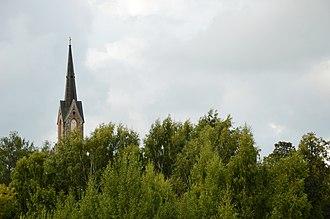 Cesvaine Municipality - Image: Cesvaine Lutheran Church 01