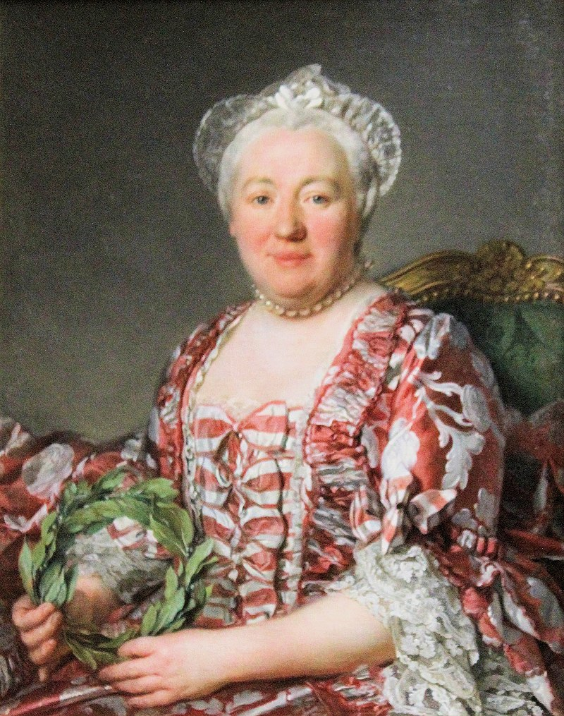 Château de Chantilly, Joseph Siffred Duplessis, portrait of a woman.JPG