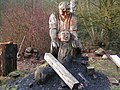 Chainsaw carving at Dean Heritage centre - geograph.org.uk - 1168977.jpg