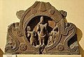 Chaitya Window - Surya - Circa 5th Century CE - Bhumara - Madhya Pradesh - Indian Museum - Kolkata 2013-04-10 7799.JPG