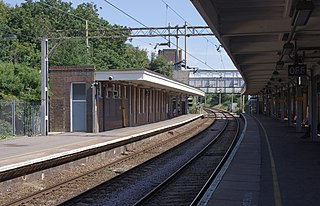 Chalkwell railway station Railway station in Essex, England