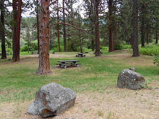 Chandler State Wayside state park in Oregon