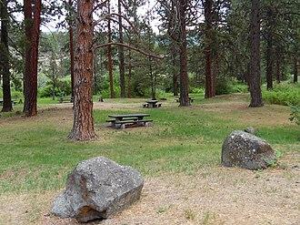 Chandler State Wayside - Image: Chandler State Park, Oregon