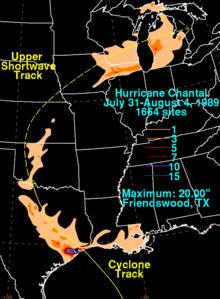 tropical storm chantal 2007