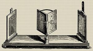 Stereoscopy - Wheatstone mirror stereoscope