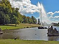 Chatsworth House - Rectangular lake and the Emperor Fountain. - geograph.org.uk - 1217516.jpg