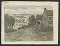 Chemin et maison, bouquets d'arbres, dans un paysage vallonné drawing by Jean-François Taelemans, R-2009-26369, Prints Department, Royal Library of Belgium.jpg