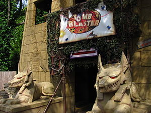 Tomb Blaster - Image: Chessington World of Adventures Tomb Blaster
