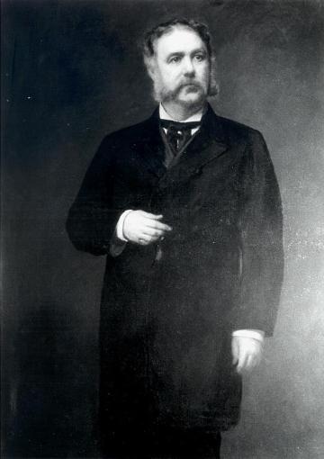 Chester Alan Arthur by Eastman Johnson