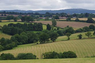 Chetton - Image: Chetton from Jack Myton Way
