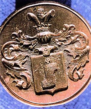 Srzeniawa coat of arms - Image: Chevaliere Famille Saloff de la Volga