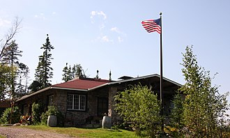 National Register of Historic Places listings in Cook County, Minnesota - Image: Chik Wauk