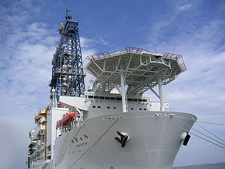 Chikyū Japanese scientific drilling ship