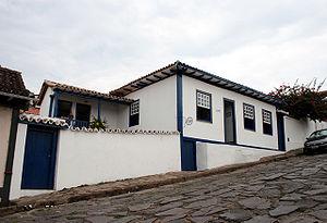 Juscelino Kubitschek - Childhood home of Kubitschek in Diamantina, Minas Gerais.
