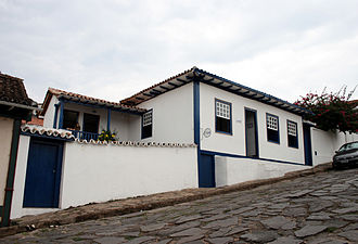Juscelino Kubitschek - Childhood home of Kubitschek in Diamantina, Minas Gerais.