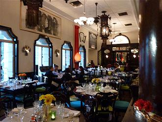 China Club - Main dining room, 13th floor, China Club
