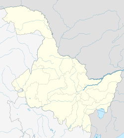 Youyi County is located in Heilongjiang