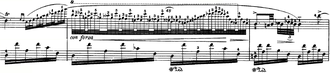 Nocturnes, Op. 27 (Chopin) - Some of the highly intricate ornamentation in No. 2