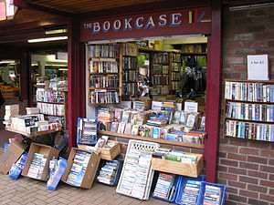 Second-hand shop - Second-hand books, Chorley market