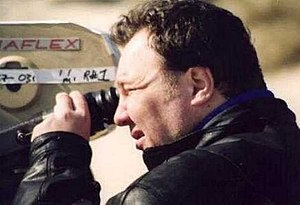 Chris Barfoot - Barfoot on set, December 1999