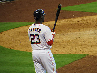 Chris Carter (right-handed hitter) - Carter with the Astros in 2013