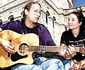 Chris Howdyshell wife Rockingham County Courthouse Harrisonburg VA March 2010.jpg