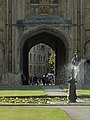 Christ Church College - main entrance and Mercury Fountain.jpg