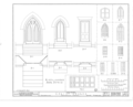 Christ Episcopal Church, North Church Street, Greenville, Greenville, SC HABS SC,23-GRENV,1- (sheet 14 of 14).png