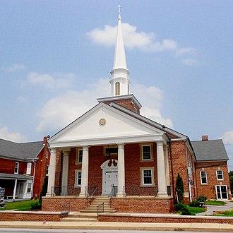 York Township, York County, Pennsylvania - Christ Lutheran Church in Spry