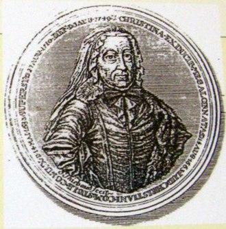 Christine of Mecklenburg-Güstrow - Image: Christine of Mecklenburg Güstrow, Countess of Stolberg Gedern
