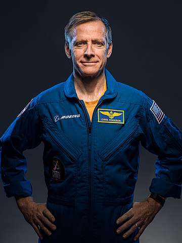 Astronaut Chris Ferguson, NASA photo (31 July 2018) Source: Wikipedia (spaceflight.nasa.gov killed 25 Feb 2021) 360px-Christopher_Ferguson_in_2018.jpg