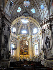 Interior of Sant'Antonio Abate, Parma