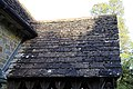 Church of St Andrew, Nuthurst, West Sussex - Horsham Stone south porch roof.jpg
