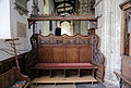Church of St Mary Hatfield Broad Oak Essex England - south chapel screen seat.jpg