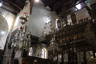 Church of the Nativity iconostasis 2010.jpg
