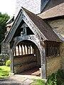 Church porch, Himbleton - geograph.org.uk - 846678.jpg