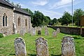 Churchyard, St Andrew's Church, Colney - geograph.org.uk - 1401105.jpg