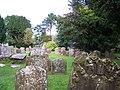 Churchyard, St Thomas A Becket, Shirenewton - geograph.org.uk - 2027592.jpg