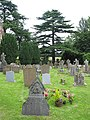 Churchyard St.John the Baptist Huntley - geograph.org.uk - 486704.jpg