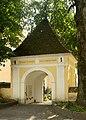Churchyard entrance, Mönichwald.jpg