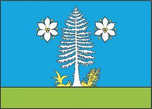Cikháj - Image: Cikháj flag