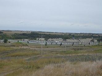 Rainwater harvesting in Canada - Saskatoon's wastewater treatment plant.