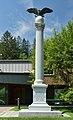 Civil War Memorial in Woodstock, Vermont-eagle version.jpg
