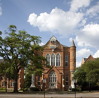 University of Alabama Quad - Image: Clark Hall by Highsmith