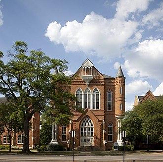 University of Alabama Quad - Image: Clark Hall by Highsmith